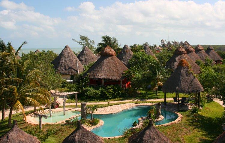 Hotel villas delfines holbox quintana roo for Villas quintana roo