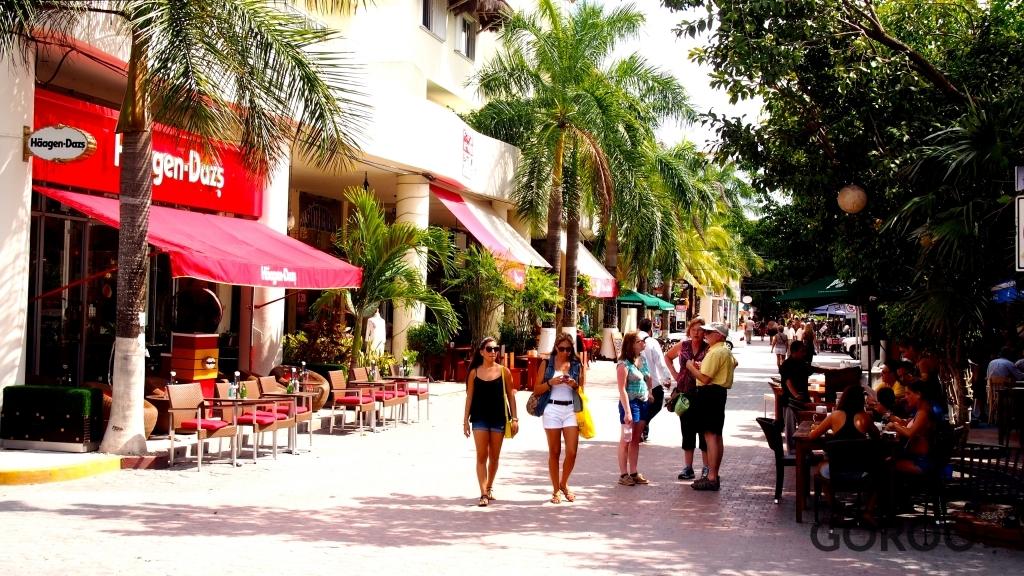 Quinta Avenida 5th Avenue Playa Del Carmen Mexico Address