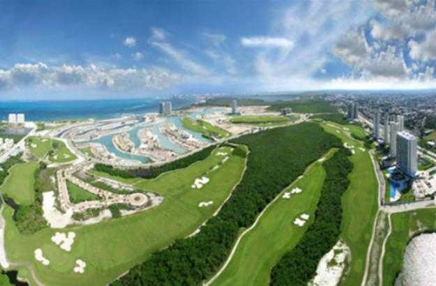 Puerto Cancun Golf Club Mexico Address and Map on